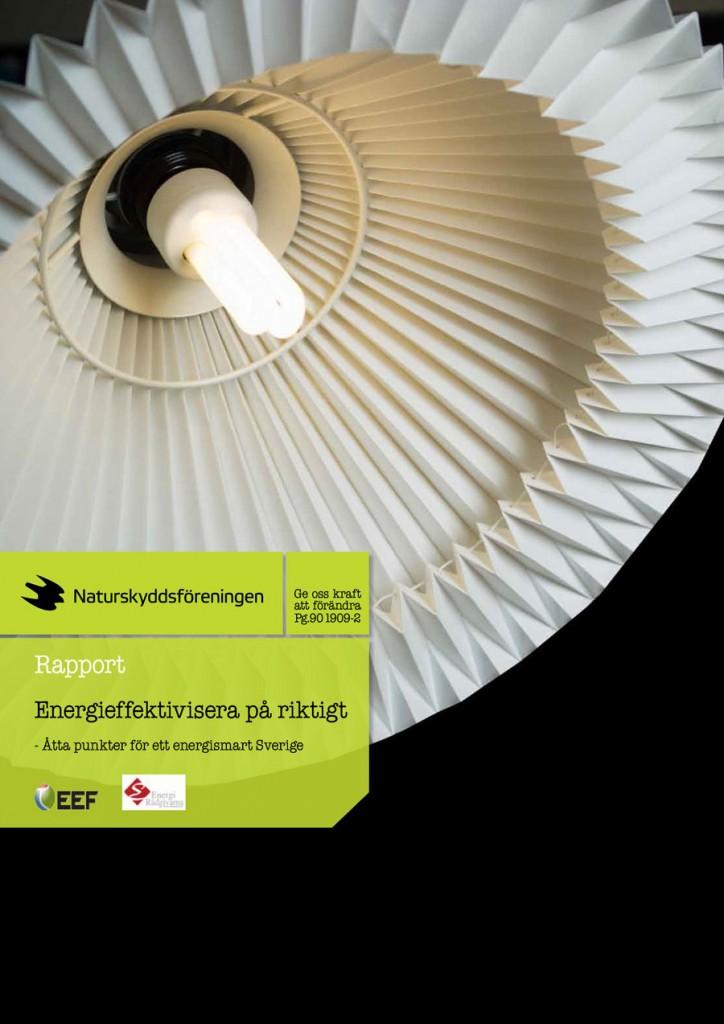Rapport: Energieffektivisera på riktigt